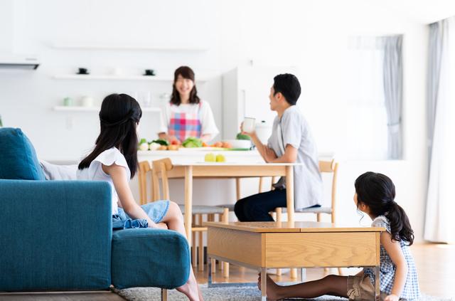 子供がいる家庭の家具